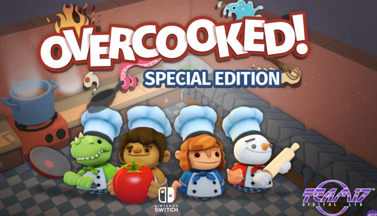 Overcooked For Nintendo Switch