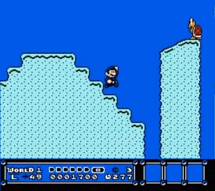 Blue Super Mario Bros 3