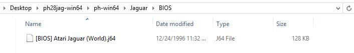 Phoenix Project Bios Directory