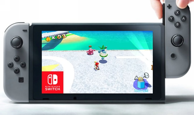 Super Mario Sunshine Nintendo Switch