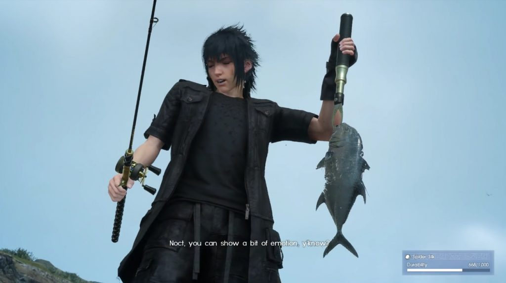 Final Fantasy XV Fishing PS4