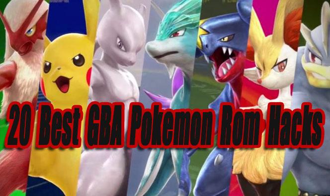 20 Best GBA Pokemon Rom Hacks