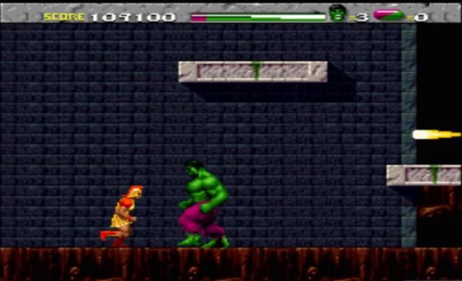 #3 The Incredible Hulk Super Nintendo