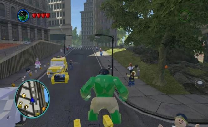 Lego Marvel Super Heroes Hulk