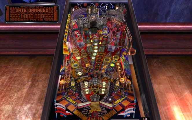 #1 Pinball Arcade Medieval Madness PS4