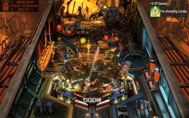 #2 Pinball FX3 Doom PS4