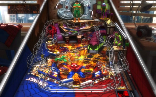 #4 Marvel Pinball Epic Collection Vol.1 Spiderman PS4