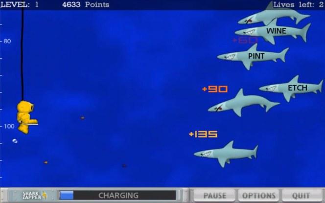 #9 Typer Shark Deluxe