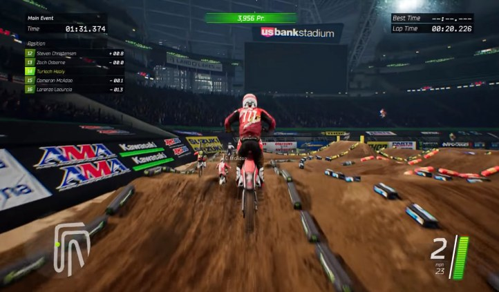 #4 Monster Energy Supercross