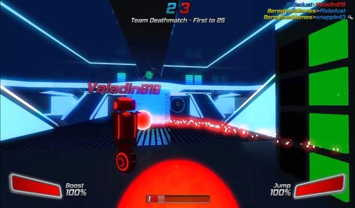 #2 Robot Roller Derby Disco Dodgeball