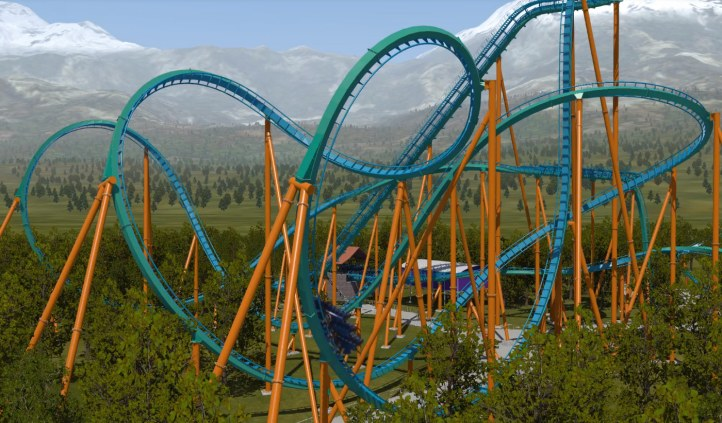 #2 NoLimits 2 Roller Coaster Simulation