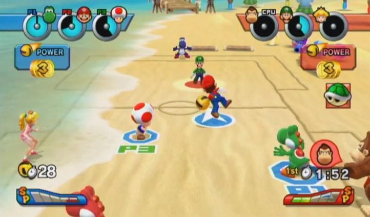 #3 Mario Sports Mix - Dodgeball