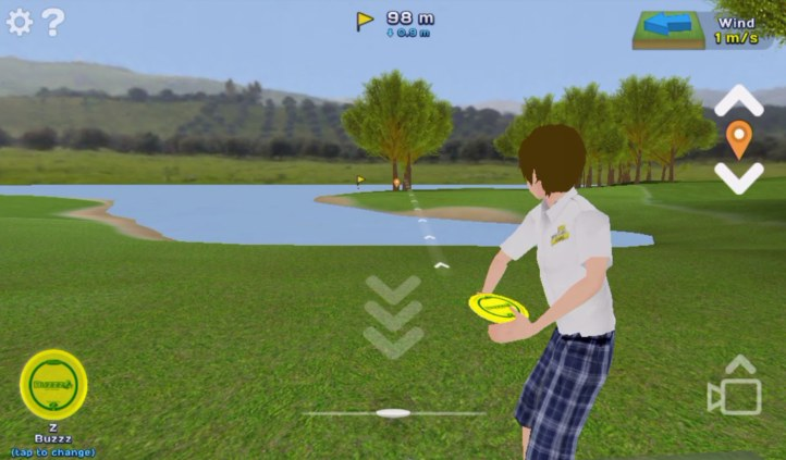 #6 Disc Golf Game