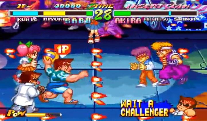 #4 Super Dodge Ball Neo Geo