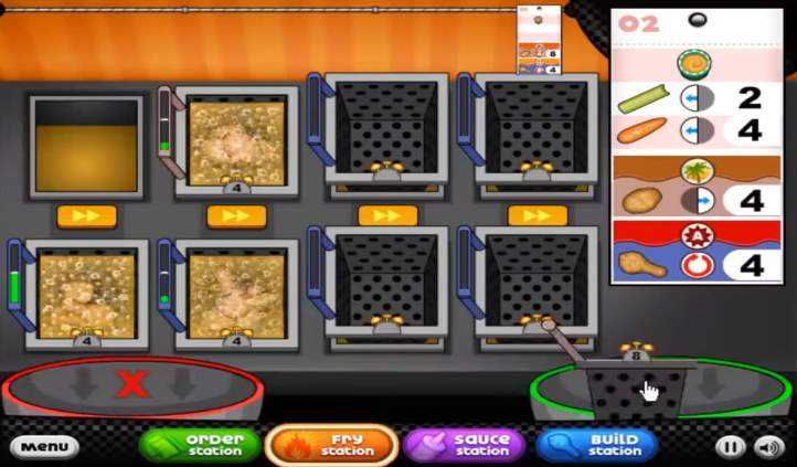 Play Fast Food Cooking Games Online