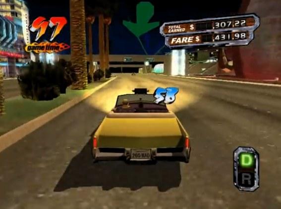 #2 Crazy Taxi 3: High Roller