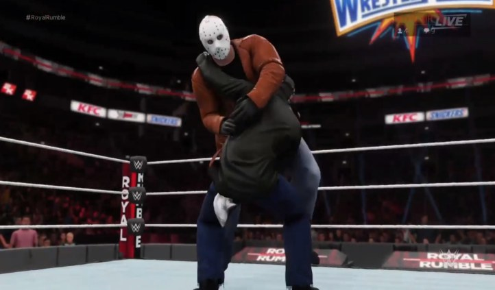WWE 2K18 Jason Created Character