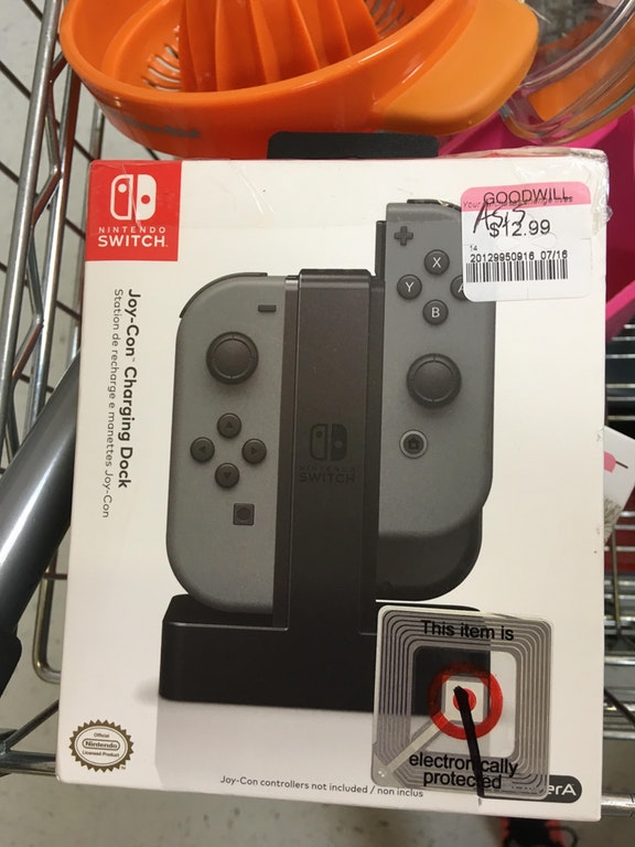 Nintendo Switch CHarging Dock found at Goodwill