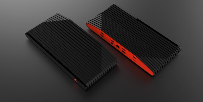 Ataribox Red and Black version