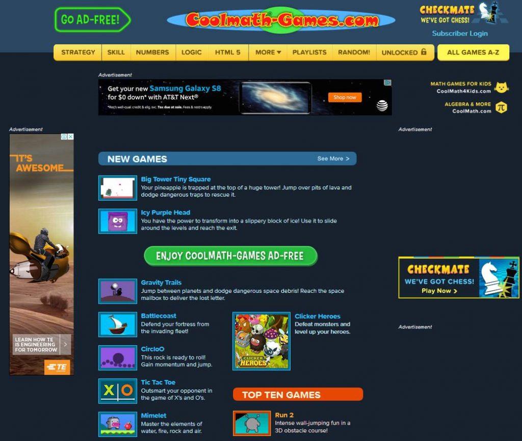 Coolmath-Games.com Website