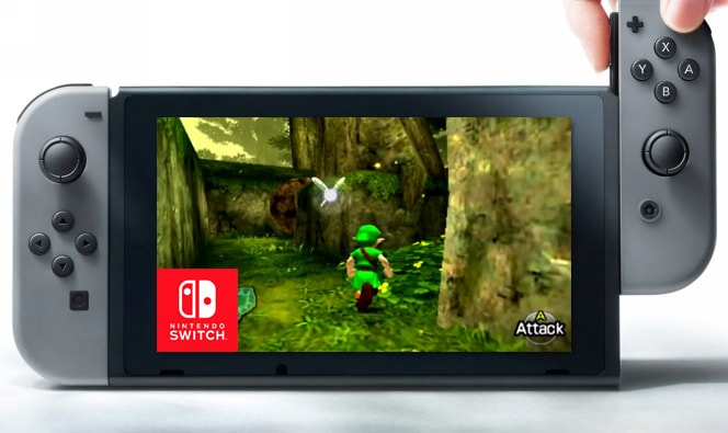 The Legend Of Zelda Ocarina Of Time Nintendo Switch
