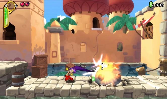 Shantae Half Genie Hero PS4