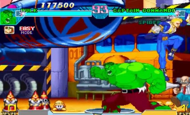 Marvel Vs Capcom Clash Hulk