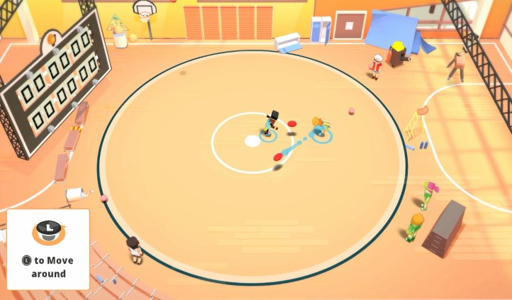 Stickbold! A Dodgeball Adventure
