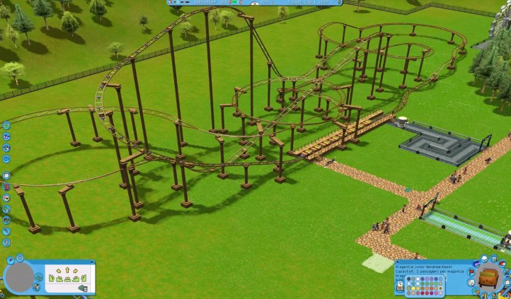 #5 RollerCoaster Tycoon 3