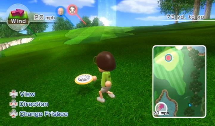 #4 Wii Sports Resort Frisbee Golf