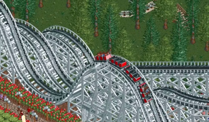 #7 Rollercoaster Tycoon Classic