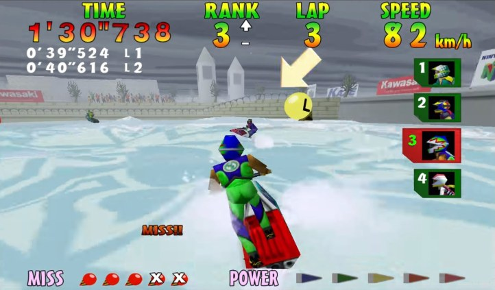 #4 Wave Race 64
