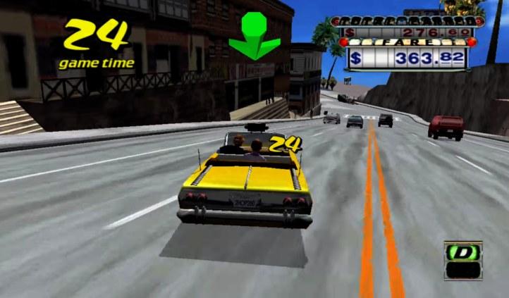 #1 Crazy Taxi 1 & 2