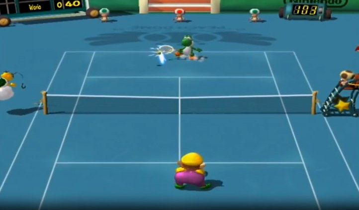 #9 Mario Power Tennis