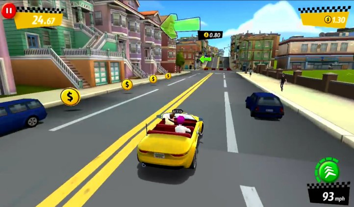 #4 Crazy Taxi City Rush