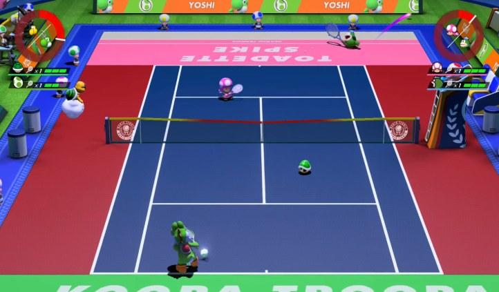#5 Mario Tennis Aces