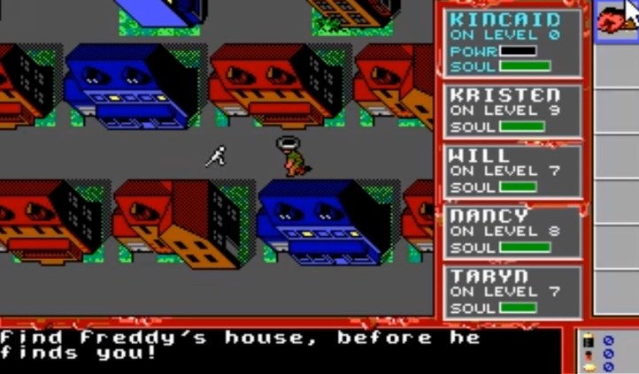 #4 A Nightmare On Elm Street Dos PC