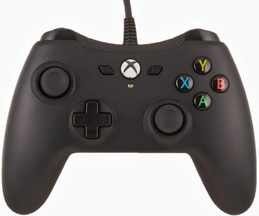 #1 AmazonBasics Xbox One Wired Controller