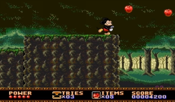 #1 Castle Of Illusion Starring Mouse Mouse