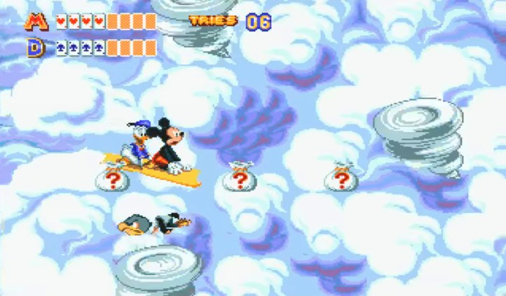 #2 World Of Illusion Starring Mickey Mouse & Donald Duck