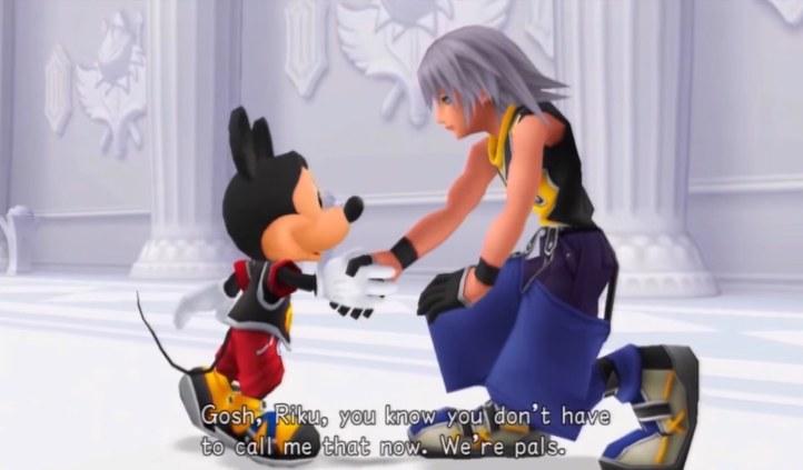Kingdom Hearts Mickey Mouse