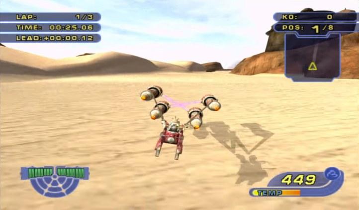 #10 Star Wars Racers Revenge PS4