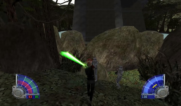 #7 Star Wars Jedi Knights Jedi Academy