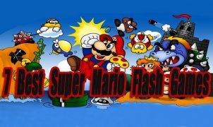 7 Best Super Mario Flash Games