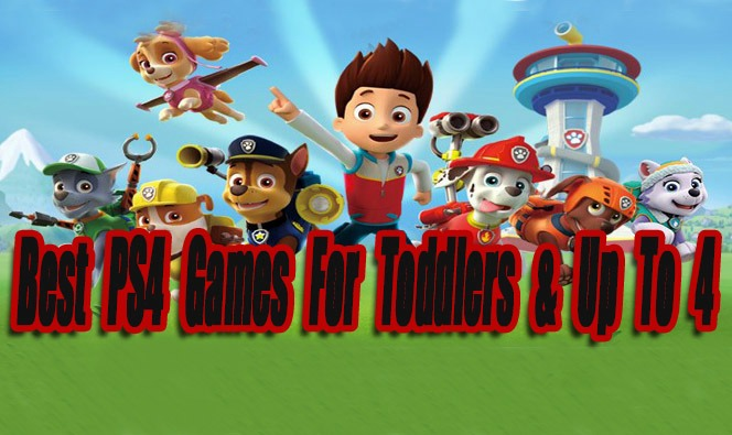 Best PS4 Games For Toddlers & Up To 4 Years Old